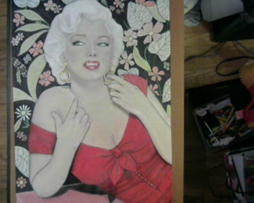 Marilyn Monroe by Delilah5